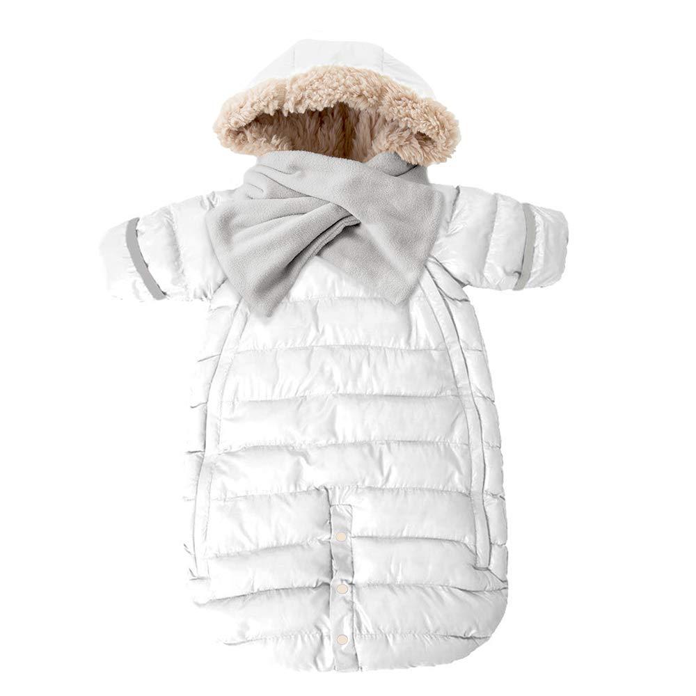 7 A.M. Enfant Doudoune, One Piece Infant Snowsuit Bunting