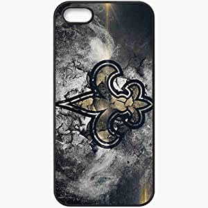 Personalized iPhone 5 5S Cell phone Case/Cover Skin 1548 new orleans saints Black