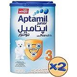 Aptamil Junior 3 Growing Up Milk Tin, 900g, Pack of 2