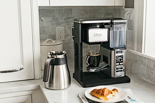 Ninja Coffee Bar Auto Iq Programmable Coffee Maker With 6 Brew Sizes 5 Brew Options Milk