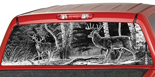 DEERs FORREST Window Graphic Sticker product image