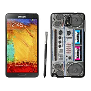 Fashion Samsung Galaxy Note 3 Case Beautiful Boombox Durable Soft Silicone Cell Phone Cover Protector