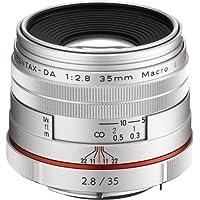 Pentax HD Pentax DA 35mm f/2.8 Macro Limited Lens (Silver)(Japan Import-No Warranty)