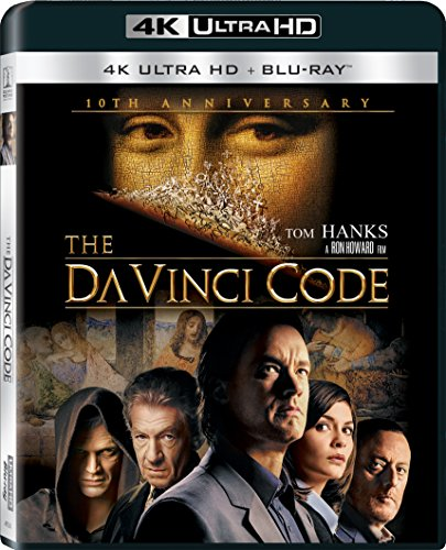 4K Blu-ray : The Da Vinci Code (With Blu-Ray, Ultraviolet Digital Copy, 4K Mastering, Dubbed, )