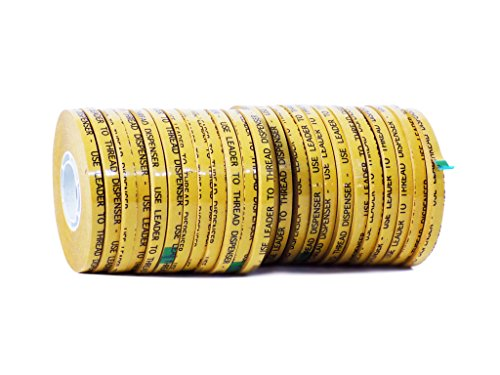 WOD ATG-7502 General Purpose ATG Tape, Adhesive Transfer Tape Glider Refill Rolls Clear Adhesive on Gold Liner (Acid Free and Available in Multiple Sizes): 1/4 in. Wide x 36 yds. (General Adhesive Transfer)