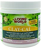 Living World Clay-Cal, 17.6-Ounce
