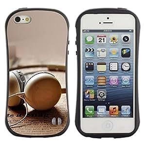 "Hypernova Slim Fit Dual Barniz Protector Caso Case Funda Para Apple iPhone SE / iPhone 5 / iPhone 5S [Enchufe de oído""]"