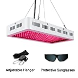 LED Grow Light for Indoor Plants 1000W,SMD LED Grow Lights Full Spectrum with UV/IR for Veg and Flower,Adjustable Hanging Hook Included