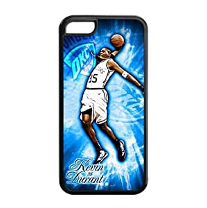 Newly Designed iPhone 5C TPU Case with Oklahoma City Thunder Kevin Durant Image for NBA Fans-by Allthingsbasketball