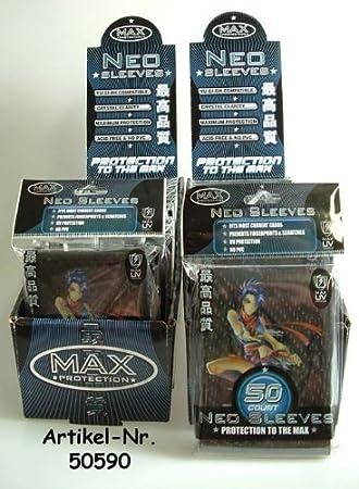 FUNDA MAX NINJA GIRL SLEEVE BLACK (50): Amazon.es: Juguetes ...