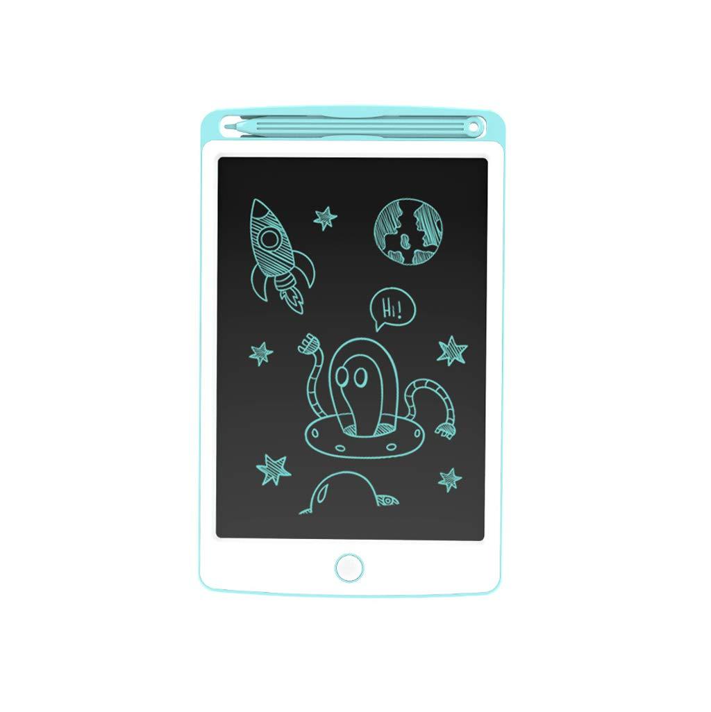 Tablero Electrónico De La Pintura De Los Juguetes Educativos del Color LCD De Los Juguetes De Los Niños ( Color : Mint Blue , Size : 8.5 Inches )