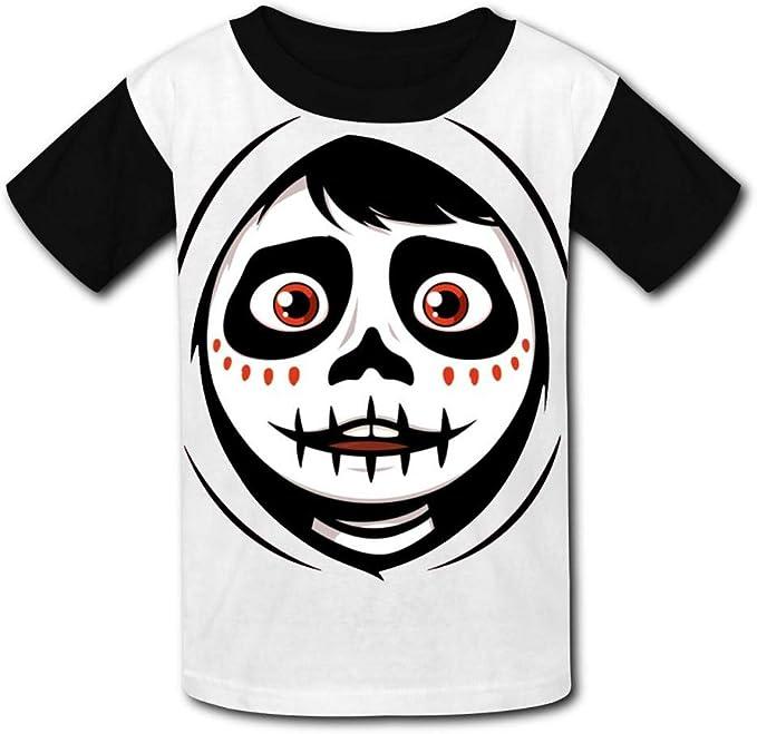 Fenghual Shark Jaws Black Raglan T-Shirts Short Sleeve Sports Sweat Tee for Kids Boys Girls