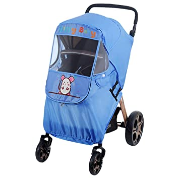 Activity & Gear Qualified Raincoat For A Stroller Universal Strollers Pushchairs Baby Carriage Waterproof Dust Rain Cover Windshield Stroller Accessories Strollers Accessories