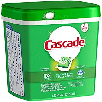 Amazon.com: Cascade ActionPacs Dishwasher Detergent, Fresh