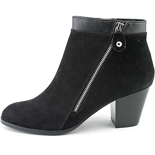 Style & Co. Womens Jenell Almond Toe Ankle Fashion Boots, Black, Size 7.0