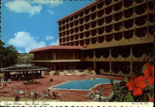 Guam Hilton Ipao Beach Agana Gu Original Vintage Postcard At Amazon S Entertainment Collectibles Store