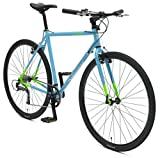Retrospec Bicycles AMOK V2 CycloCross Nine-Speed/Commuter Bike with Chromoly Frame, Hi-Vis Blue, 58cm/Large Xander Bicycle Corporation