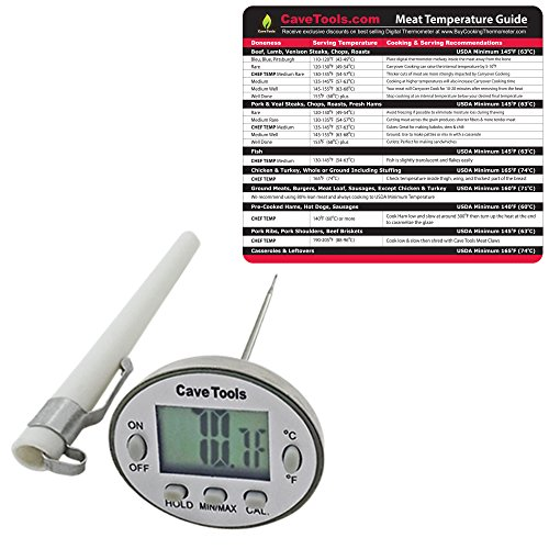 Meat Temp Chart Digital Thermometer