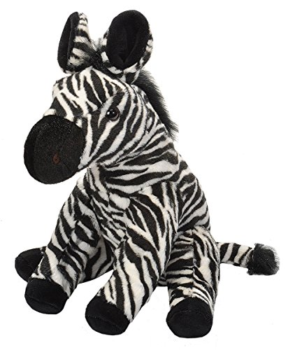Wild Republic Zebra Plush, Stuffed Animal, Plush Toy, Gifts For Kids, Cuddlekins 12