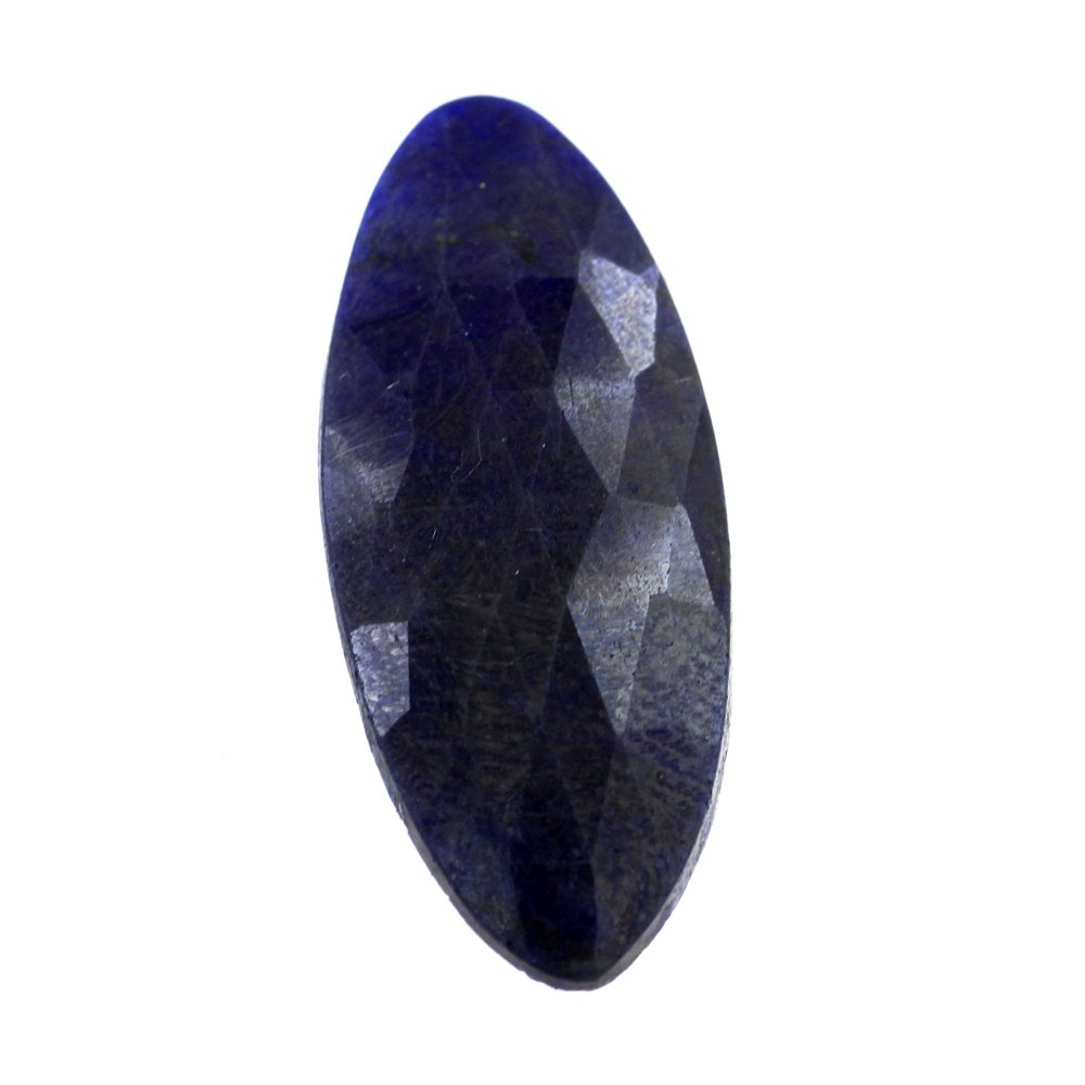 skyjewels 17.50 Cts Natural Blue Sapphire Gemstone with Certificate