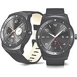 """LG G Watch R W1104ギガバイトのAndroidスマートフォンブラック1.3""""OLEDスマート·ウォッチ 【並行輸入品】"""