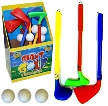 Childrens Golf - Set de palos de golf de juguete infantiles ...