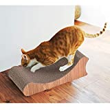 Giantex Pet Scratching Board Sloped Shape Pet Lounge Bed Scratching Pad Cat Scratcher For Sale