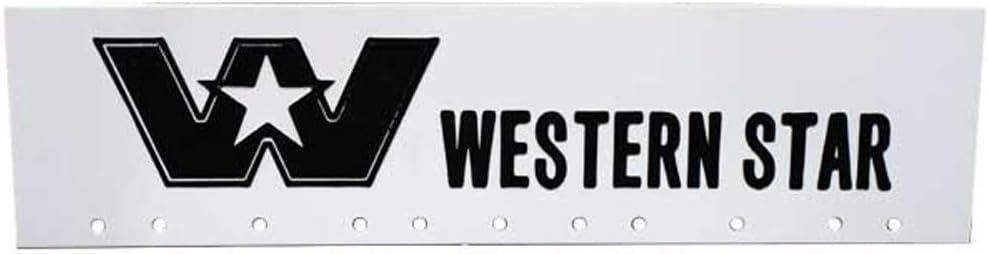"""Volvo Trucks Black /& White 6/"""" x 24/"""" Semi Truck Mud Flap-quarter Fender Flaps-Set"""