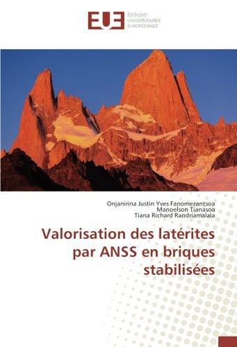 Valorisation des latérites par ANSS en briques stabilisées (French Edition)