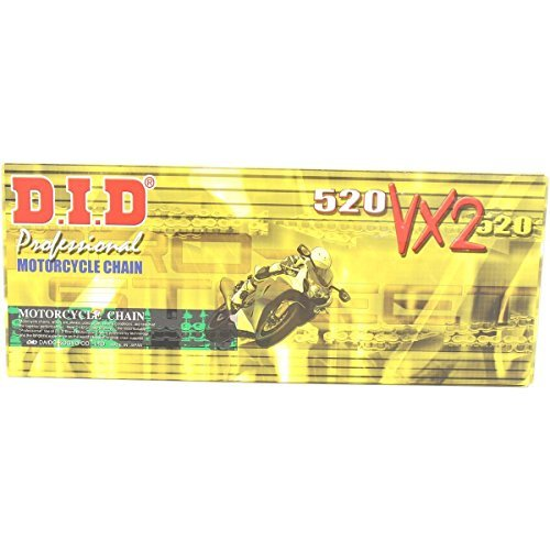- DID 520VX2GB-110 Gold X-Ring Chain with Connecting Link