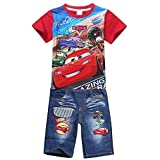 Best Buds T Shirt Sets - Wxian Boy's Casual Short-Sleeved Two-Piece Sets T-Shirt + Review