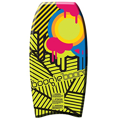 Wham-O 37 Inch High Performance Phuzion Core Water Boogie Board, Colors May Vary