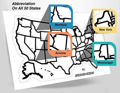 RV State Sticker Travel Map - 13\