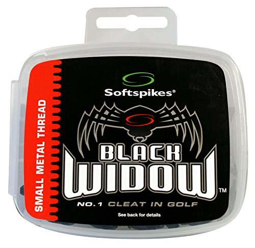NEW Softspikes Black Widow SMALL METAL Thread Cleat Spike Kit by Soft Spikes