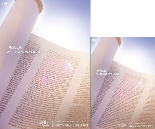 Walk as Jesus Walked DVD and Discovery Guide Combo Pack ZCS (Faith Lessons)