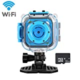 Best Waterproof Camera With WiFis - WIFI Waterproof Kids Action Camera, Digital Sports Camera Review