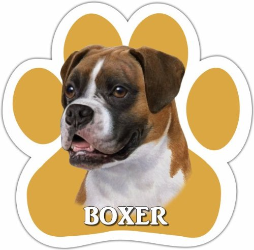 Sea Lion Costumes For Dogs - Boxer Car Magnet With Unique Paw