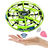 Flying Ball RC Mini Drone Flying Toys Birthday Gifts for Kids Boys Girls Airplane UFO Shape Outdoor Play Toys Remote Control Interactive Infrared Induction Helicopter Flying Saucer Toys 360° Rotating