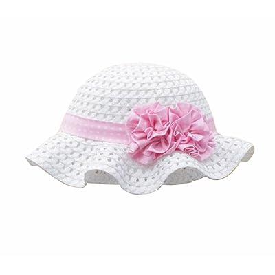 Été bébé Fille Casquettes Coton Chapeau de soleil 2-3 ans Chapeau de paille