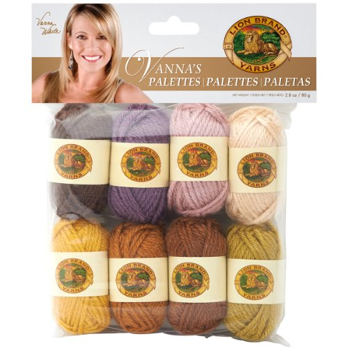 Lion Brand Yarn 865-205 Vanna's Palettes Yarn, Essential