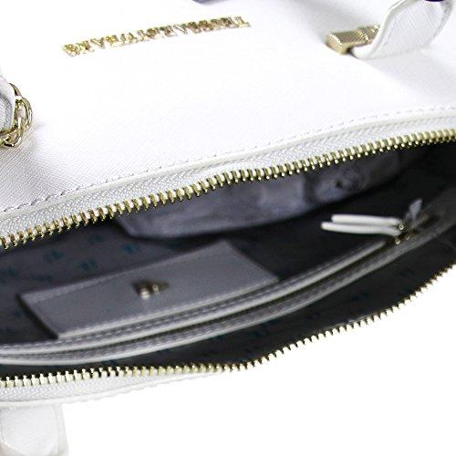 Borsa a mano Trussardi Jeans Levanto Dome Bianco