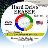 Hard Drive Eraser 32/64Bit Professional Edition - Wipe your Hard Drive Securely for for ALL operating systems