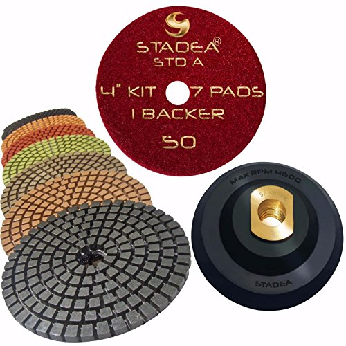 stadea-premium-grade-wet-4-diamond-polishing-pads-set-rubber-backer-for-granite-marble-stone
