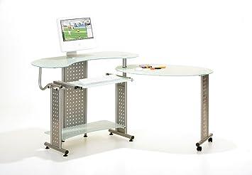 Links bureau meuble informatique reception ergonomique