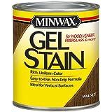 Minwax 260604444 Interior Wood Gel Stain, 1/2 pint,  Walnut