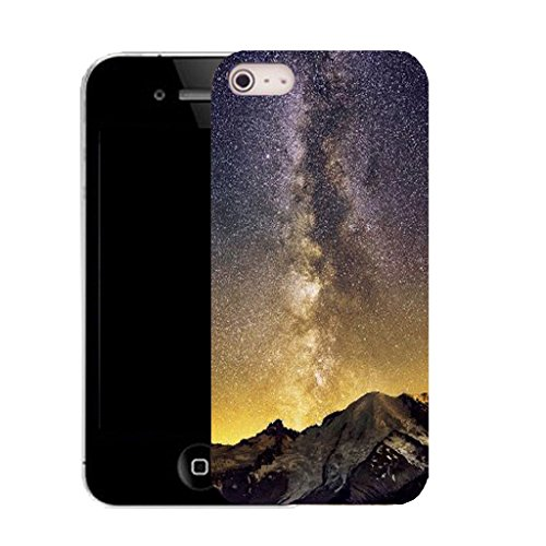 Mobile Case Mate IPhone 4 clip on Silicone Coque couverture case cover Pare-chocs + STYLET - volcanic eruption pattern (SILICON)