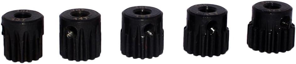 13t-15t Hellery Pignone 48dp 13t-15t Pignone 3.175mm per Accessori Fai da Te 1//10 Rc per Auto