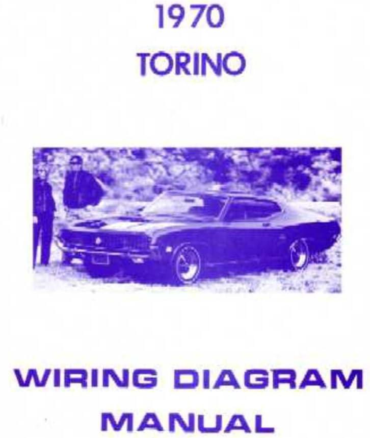 Amazon Com Bishko Automotive Literature 1970 Ford Torino Electrical Wiring Diagrams Schematics Manual Book Factory Oem Automotive