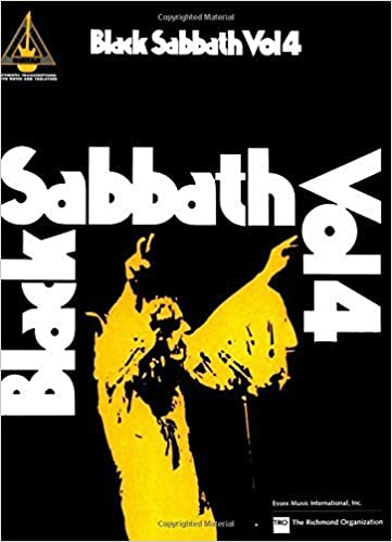 Black Sabbath: Vol. 4 (Guitar Recorded Versions) (2012-06-08)