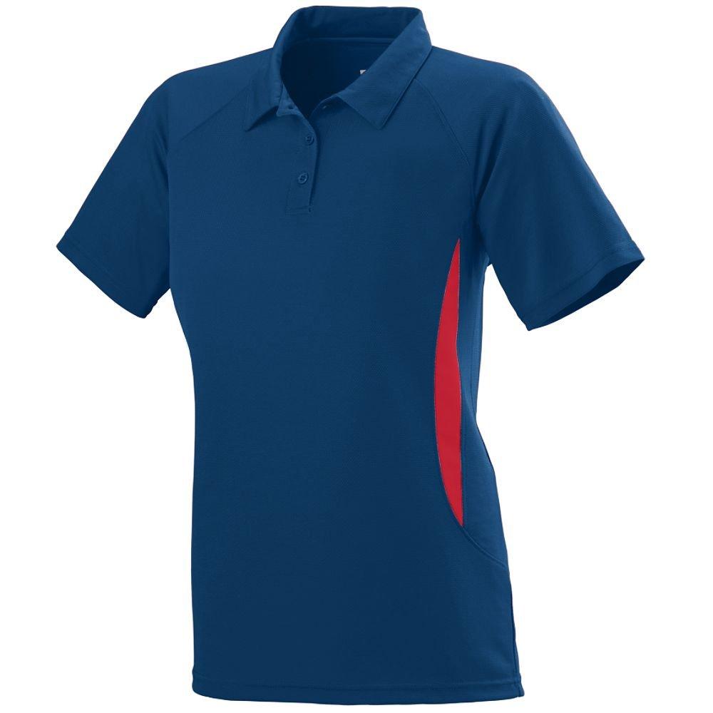 Augusta Sportswear WOMEN'S MISSION SPORT SHIRT S Navy/Red